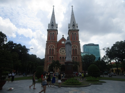 "The ""other"" Notre Dame in Ho Chi Minh City"
