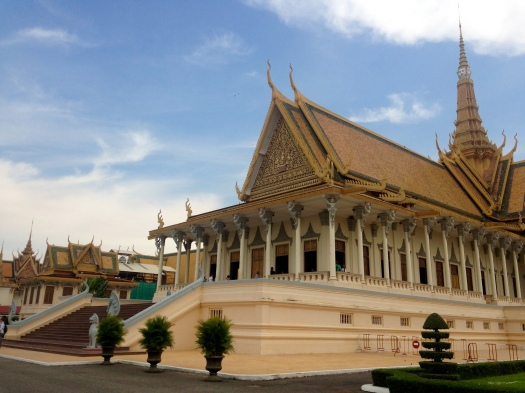 The regal temples in the Royal Palace of