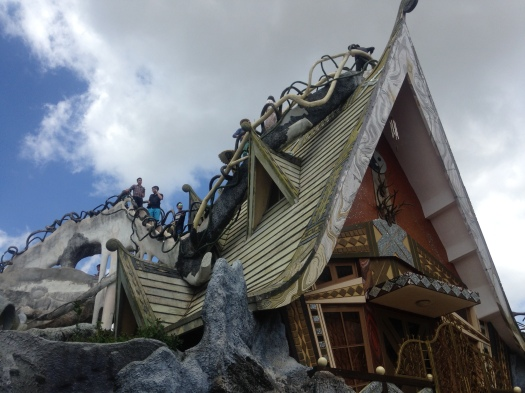 The creative design of the Crazy House, Da Lat