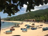 Vietnamese fishing boats