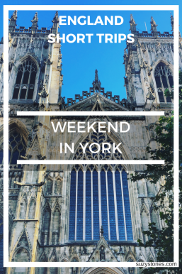 Text overlay image of York Minster in England