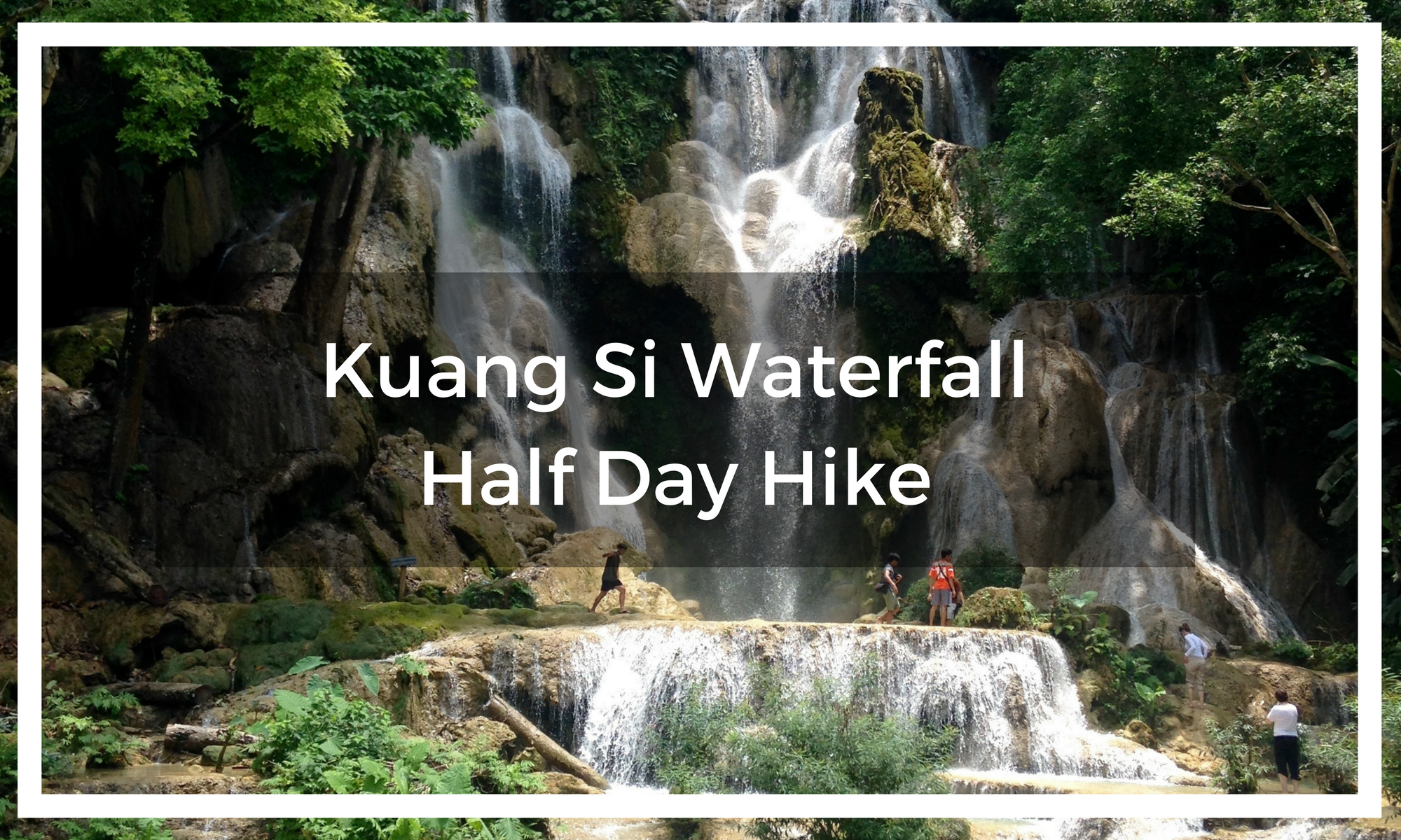Title image of waterfalls with overlay title text