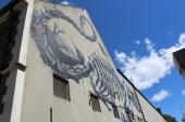 Street art by ROA in Christchurch