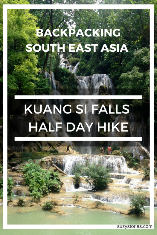 Pinterst image of waterfall with overlay title text