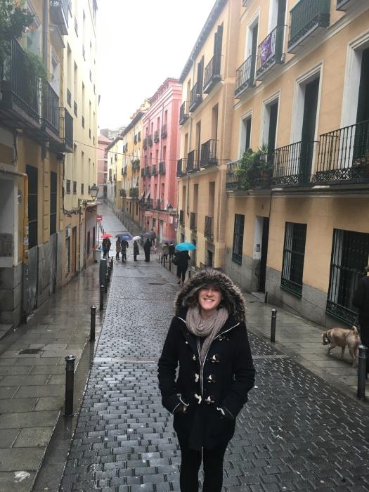 Rainy Madrid